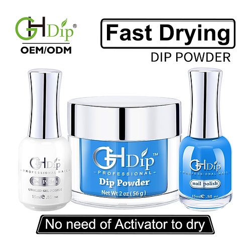 Dip Powder Color Perfect match Gel Polish and Nail Lacquer