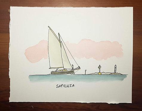 Le virtù dei marinai - Sapienza