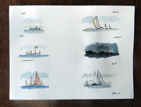 Agenda del marinaio 2018 / 3