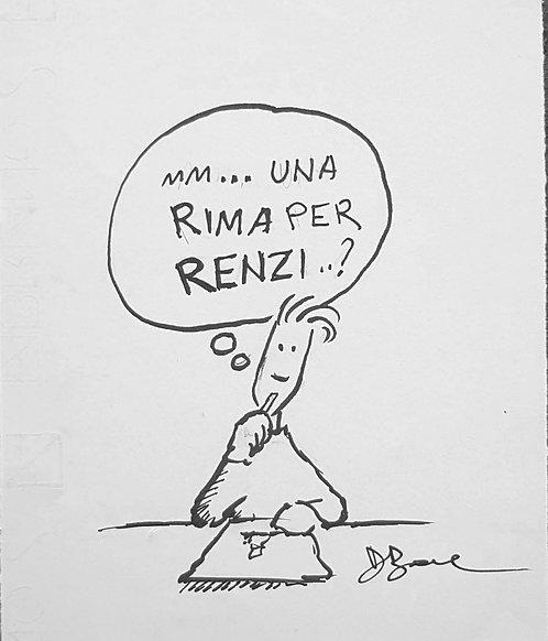 Rima per Renzi