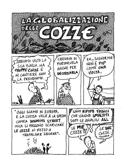 la globalizzazione delle Cozze - 2 pagine