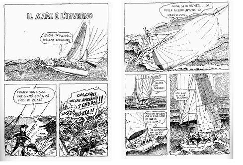 Il mare e l'inverno - 4 pagine