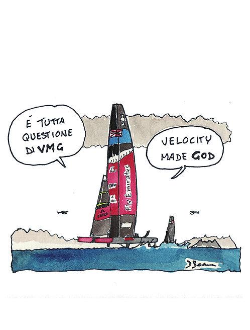 Velocity made GOD
