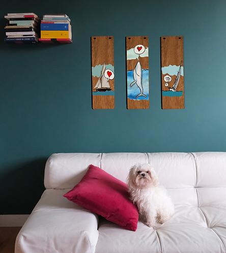 Poster in legno