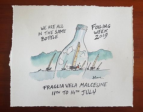 Foiling Week - bozzetto