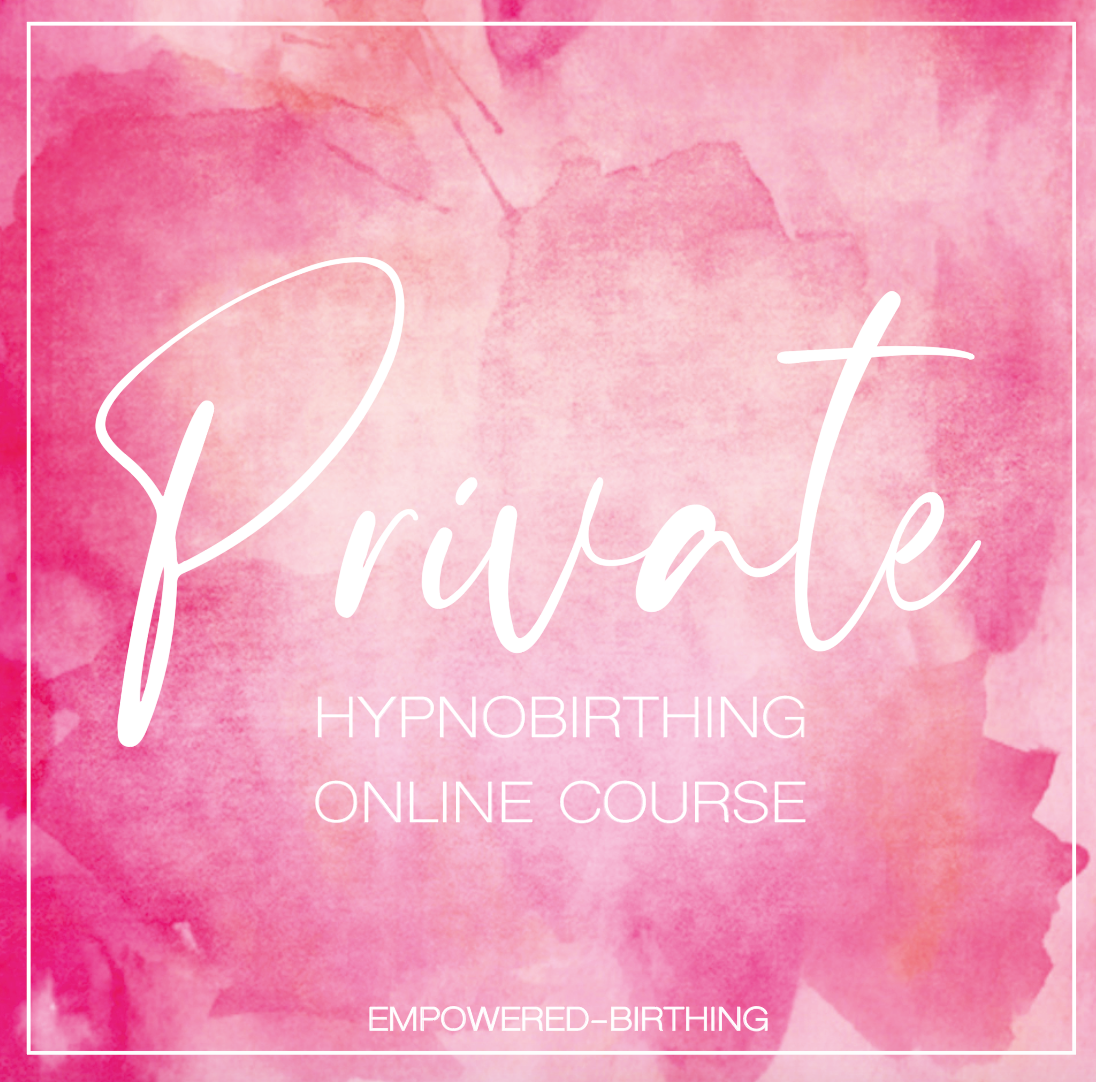 PRIVATE HYPNOBIRTHING COURSE