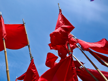 Hope... in a sea of red flags