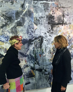 Artist Livia Stein and Susan