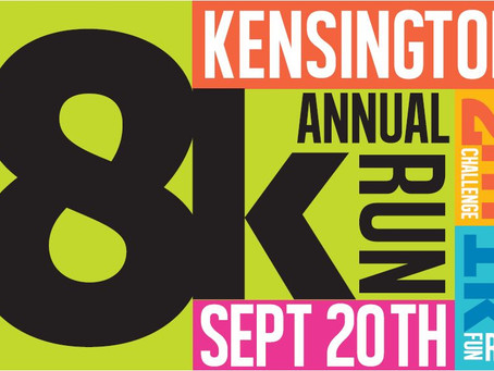 Kensington 8K race