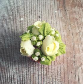 Mini Bouquet cupcakes