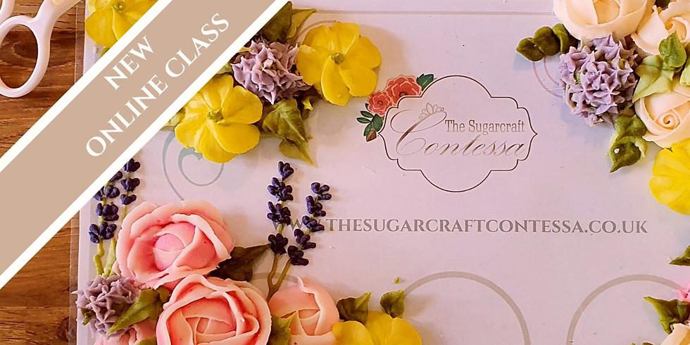 Beginning Buttercream Flowers - Online