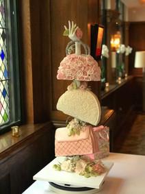 Three Tier Handbag Cake