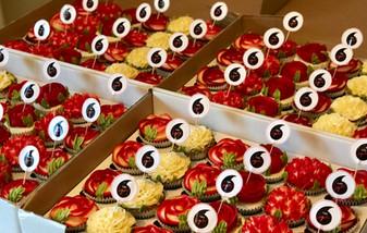Logo/ Branded Cupcakes
