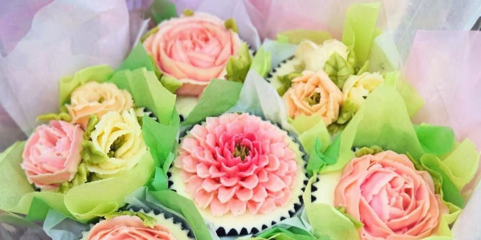 Improving Beautiful Buttercream Bouquets