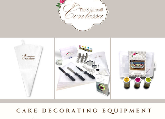 £10 Decorating Equipment Gift Certificate