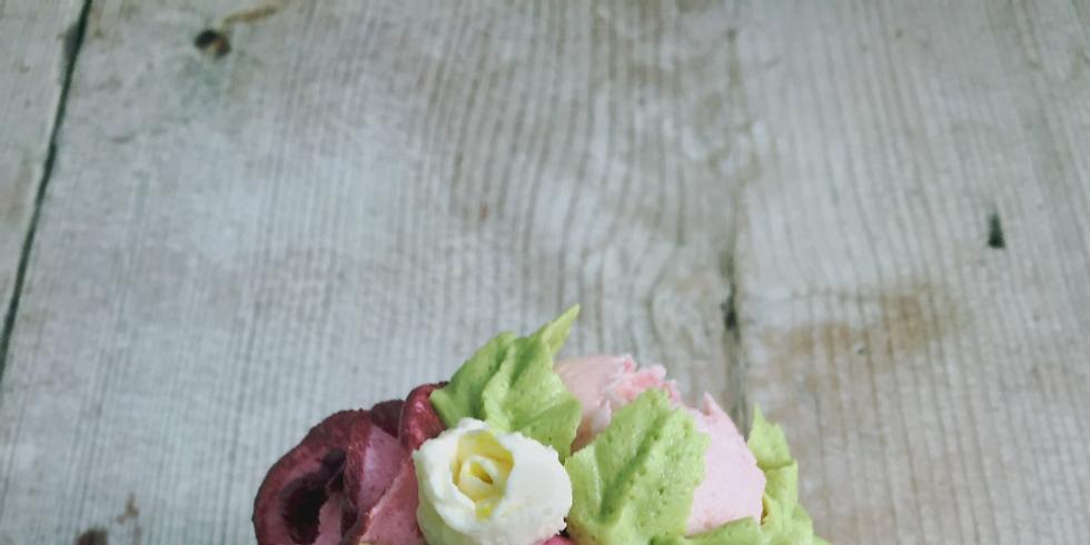 Miniature Bouquet Cupcakes