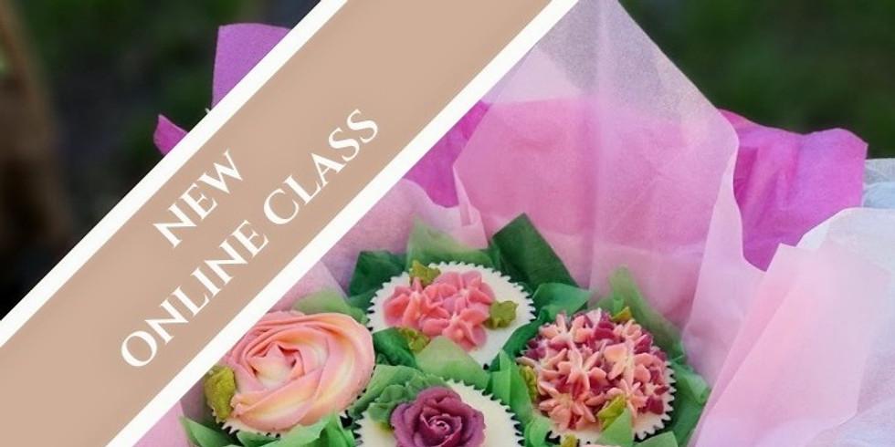 Beautiful Buttercream Bouquets  - Live -