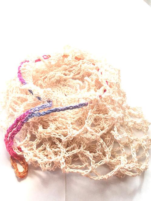 Crocheted Reusable Produce Bag