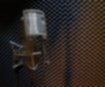 Microphone in portable Sound Booth
