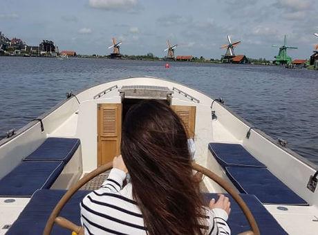 Mojito maken op boot in Amsterdam