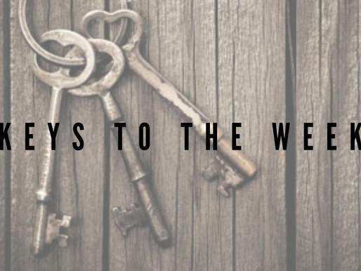 3 Keys to the Week - April 1, 2021