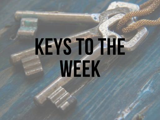 3 Keys to the Week - April 16, 2021