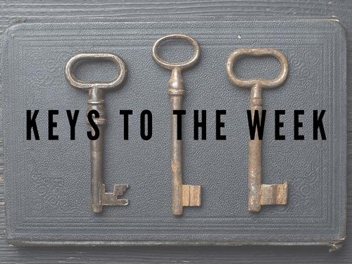 3 Keys to the Week - April 9, 2021
