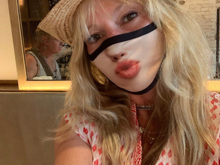 "Cindy's Corners: Model Heather Payne helps People ""Mask Up"" Fashionably"