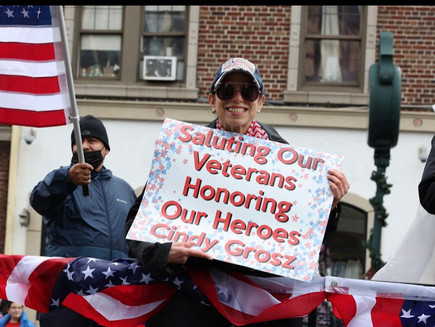 Happy Memorial Day.  Honored to sponsor a local parade and honor those who gave their lives.