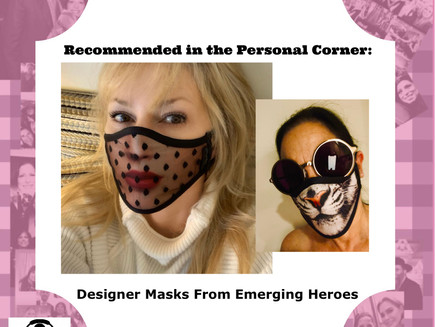 Emerging Heroes Supports Essential Workers With Designer Masks That Are Fashionable Fits