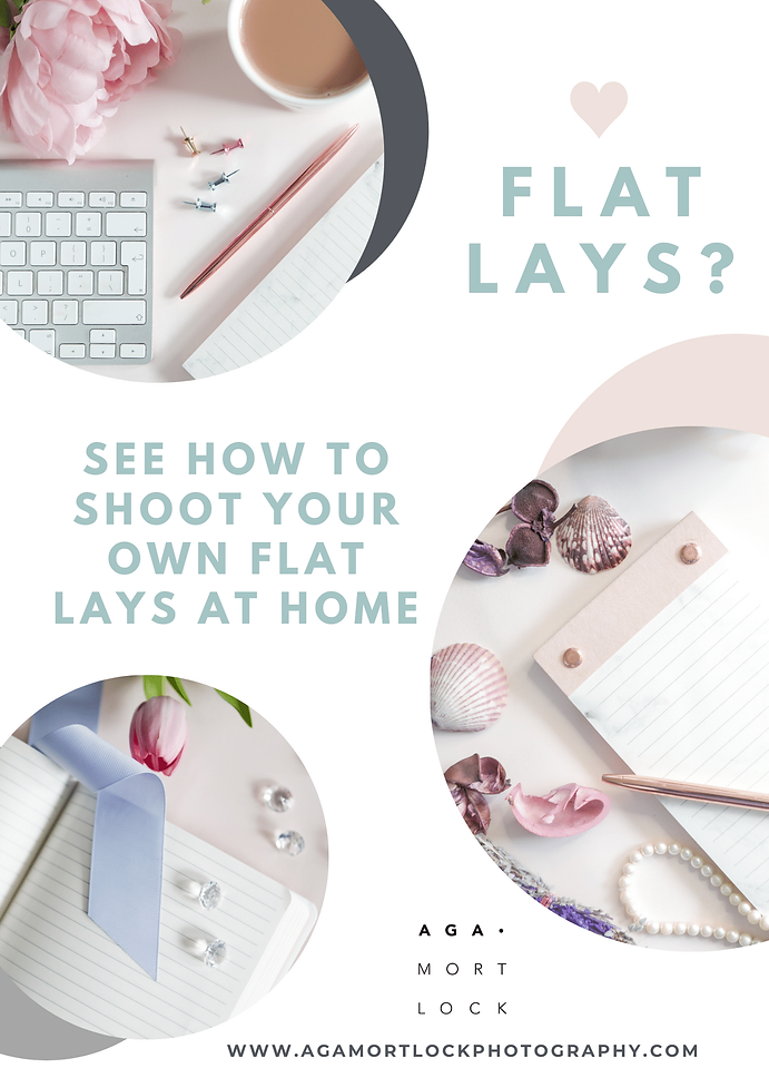 Aga Mortlock - shoot flat lays at home.p