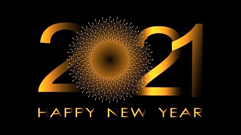Happy New Year! Bonne Année! с Новым Годом! Feliz año nuevo! Schéint Neit Joer! 明けましておめでとうございます 新年快乐 سنه جديده سعيده