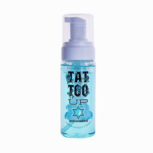 Пенка для ухода за татуировкой Aquamarine Tattoo UP 50 ml