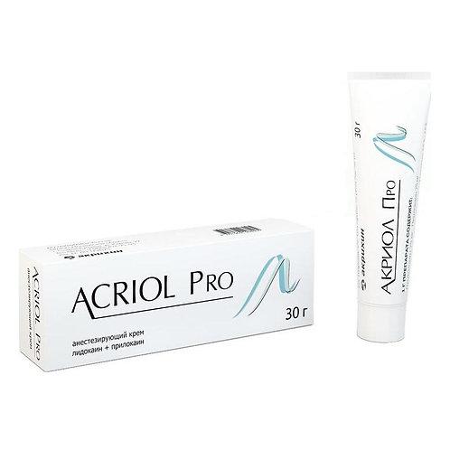 Акриол Pro - Анестезирующий крем для тату и перманентного макияжа (татуажа).