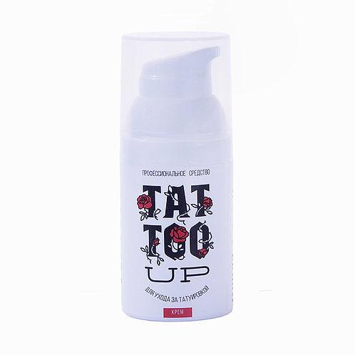 Tattoo UP восстанавливающий крем для ухода за татуажем 15 ml