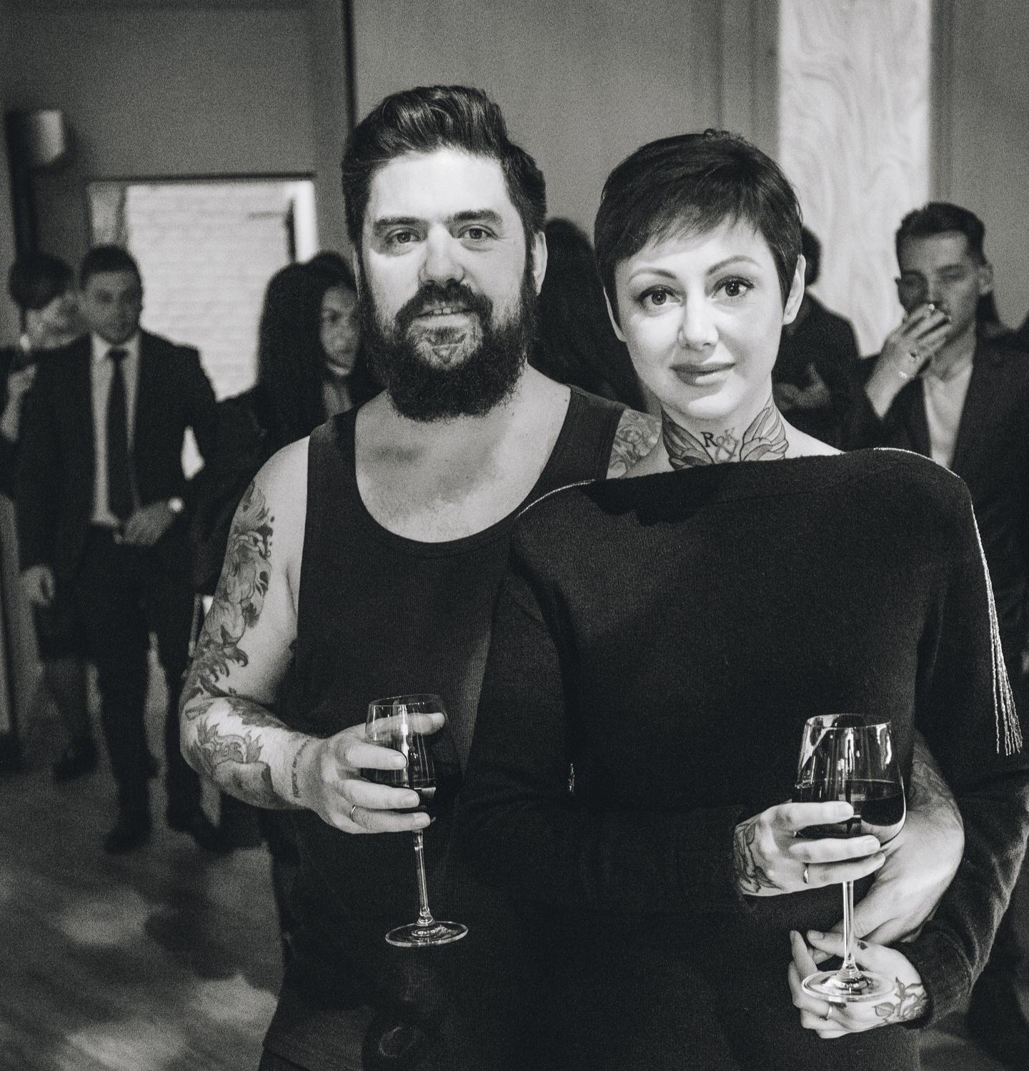 Давлятова Роман и Екатерина тату ап _edi