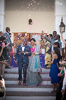 Gopika and Taz | Bride and Groom | Credit: Joe Daniel