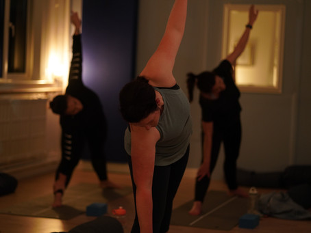 How Yoga helps improve your strength training.