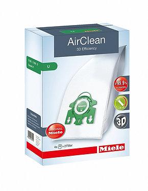 Miele U AirClean 3D Filter Bags