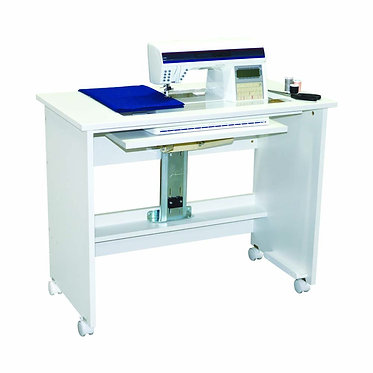 Horn of America Model 5100 All White Sewing Cabinet
