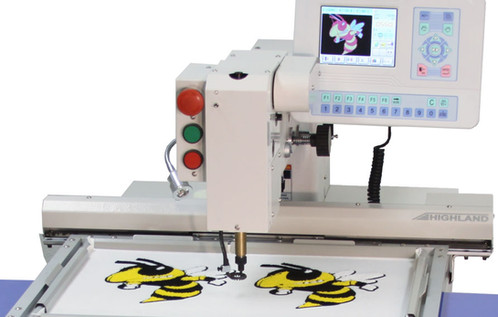 chenille embroidery machine used highland hmc 601 compact chenille machine bravo 17454 | file