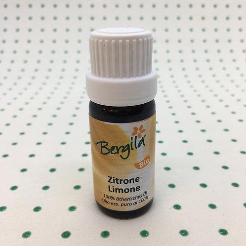 Olio Essenziale al Limone Bio 10 ml.