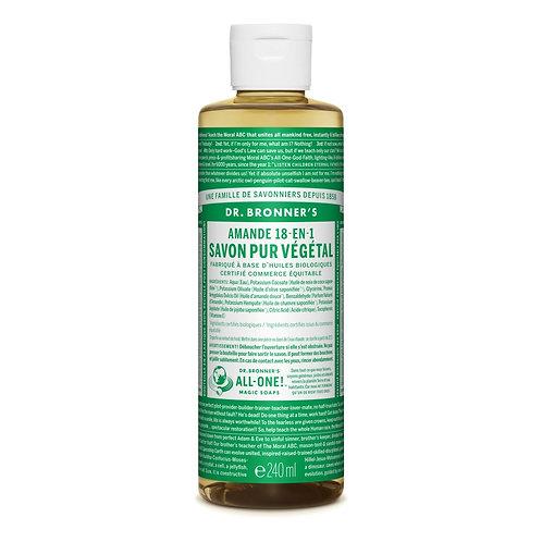 Dr. Bronner's Sapone Liquido Mandorle 475 ml.