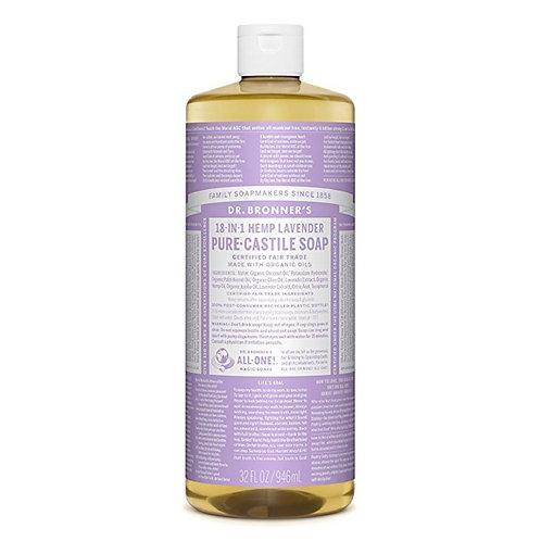 Dr. Bronner's Sapone Liquido Lavanda 945 ml.