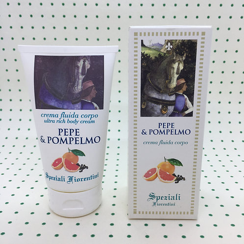 Derbe Speziali Fiorentini Crema Fluido Corpo Pepe e Pompelmo 150 ml.