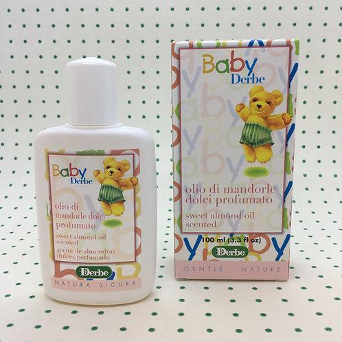 Olio di Mandorle Dolci Profumato Baby Derbe 100 ml.