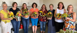 Thanksgiving Flower Arranging 2018