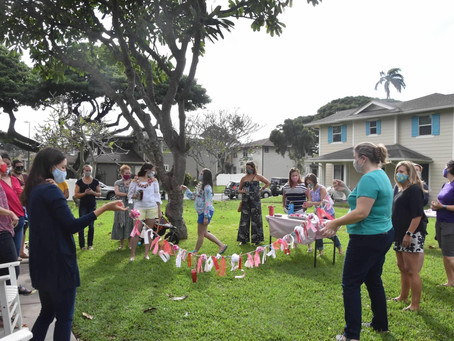 Valentine's Crafting in the Park