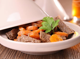 Beef and Carrot Tagine