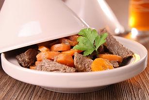 Boeuf et carotte Tagine
